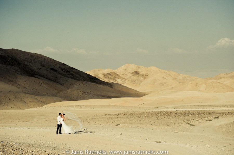 adventure wedding in desert
