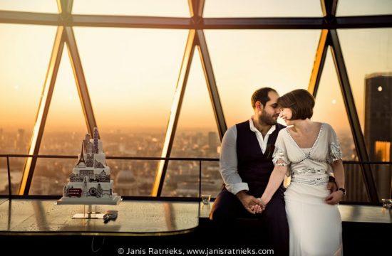 amazingGherkin wedding photographers in London