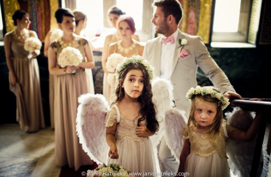 angel wings flower girls cute