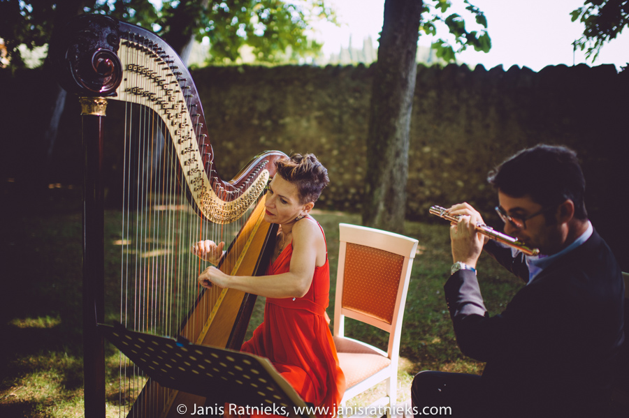 harpist italy