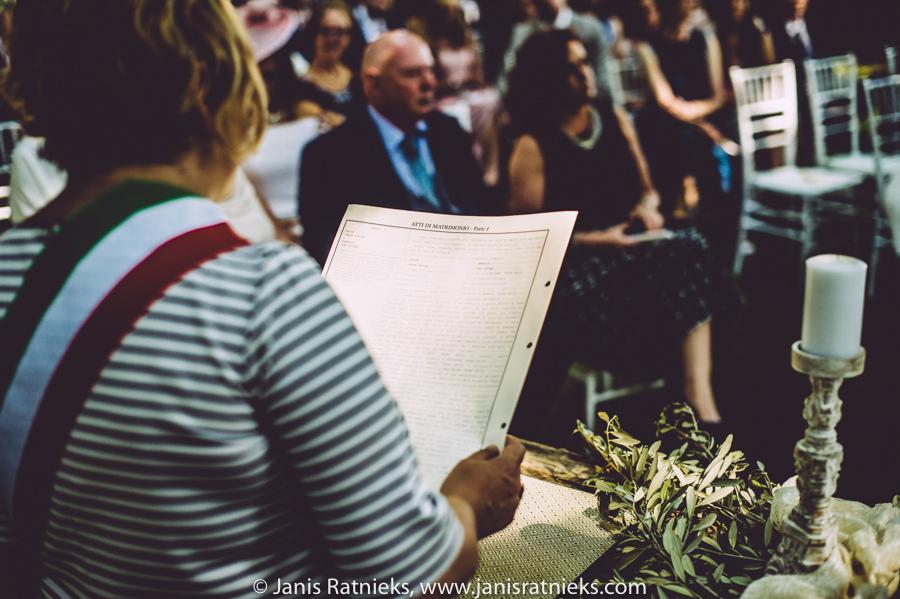 italion wedding celebrant