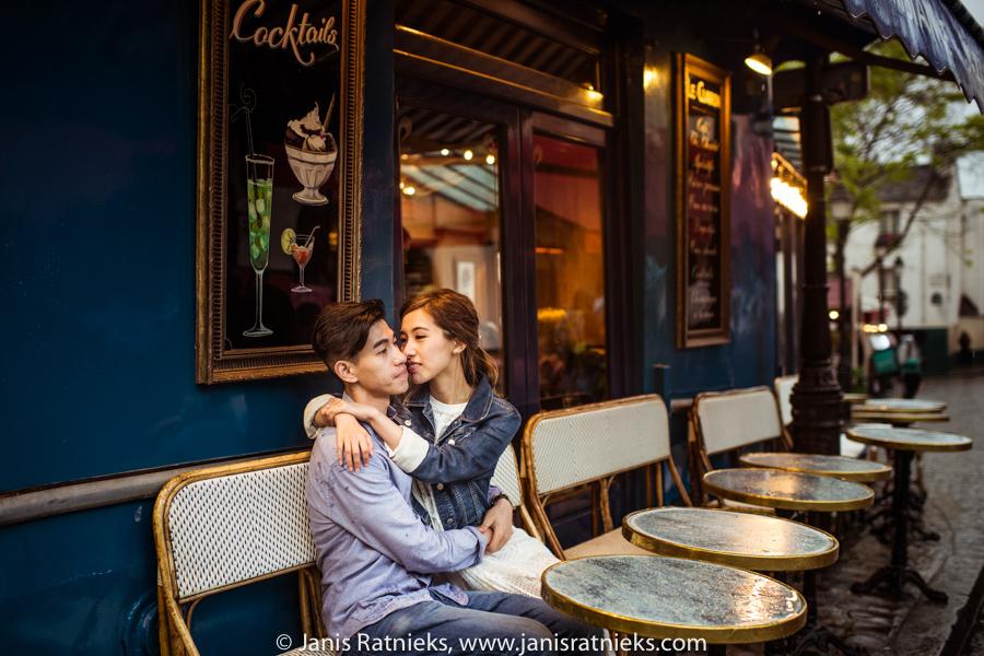asian prewedding photo shoot paris