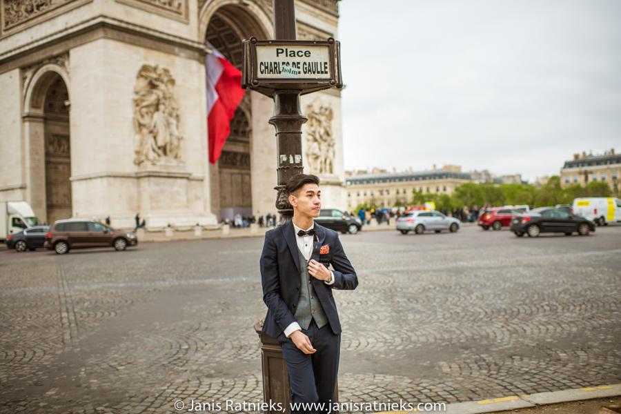 groom in Paris