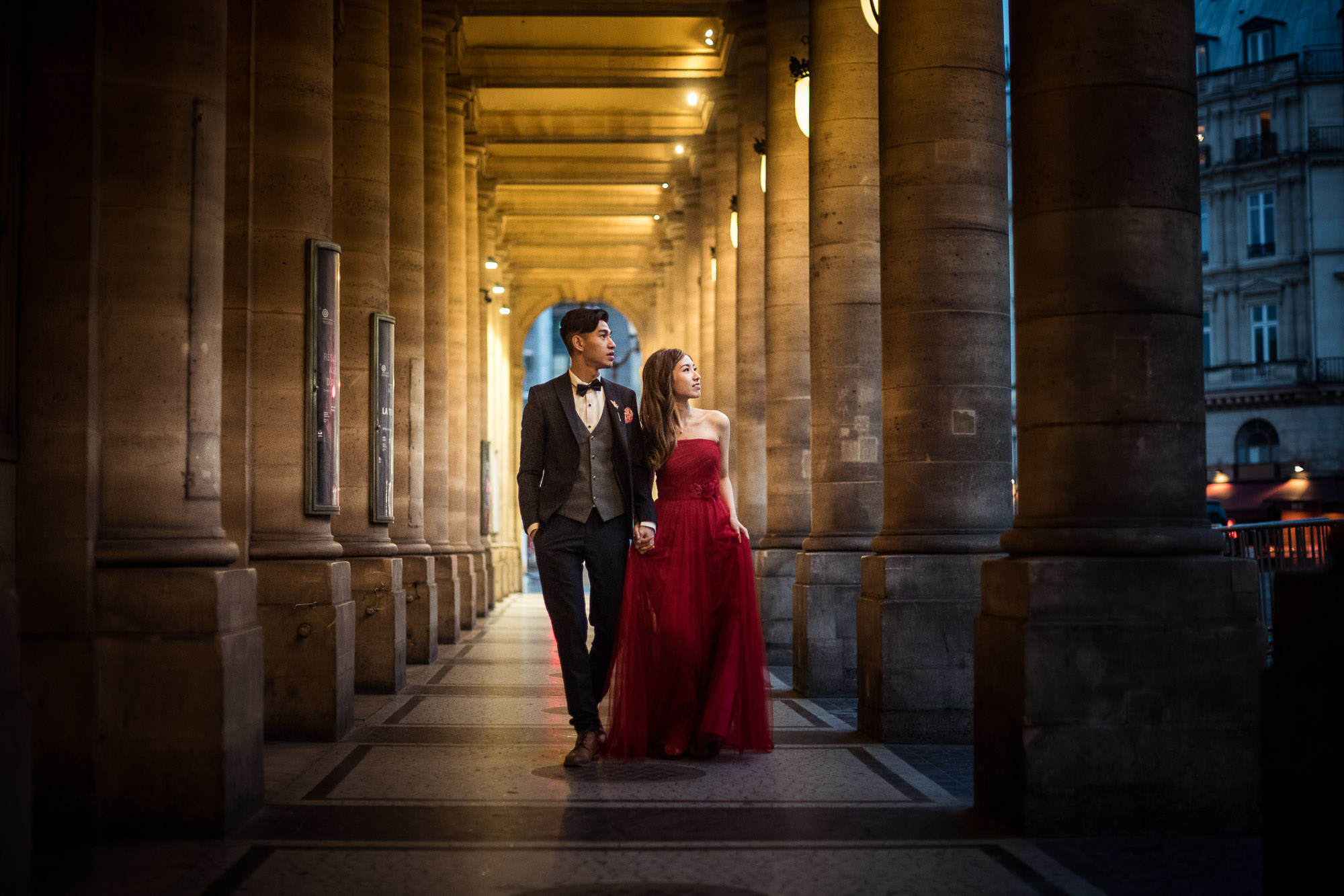 Asian pre wedding in Paris