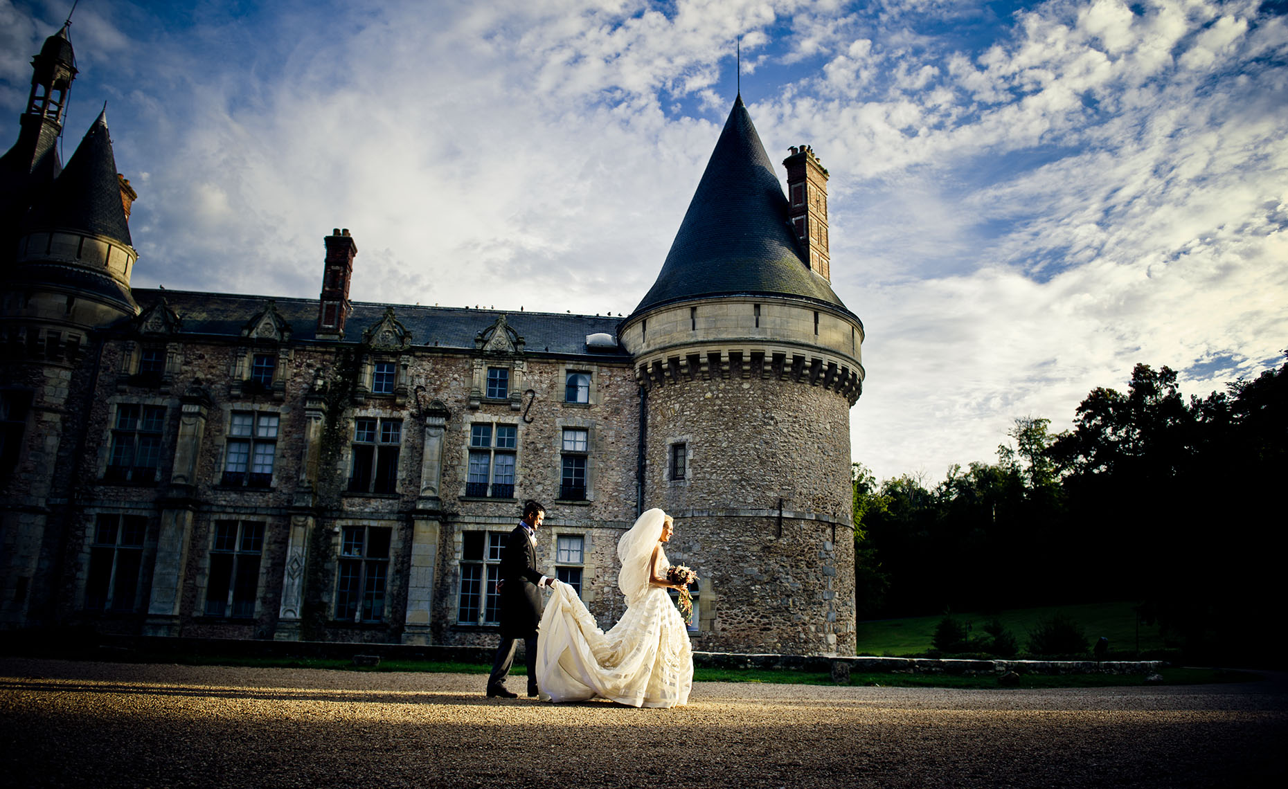 Chateau Esclimont wedding