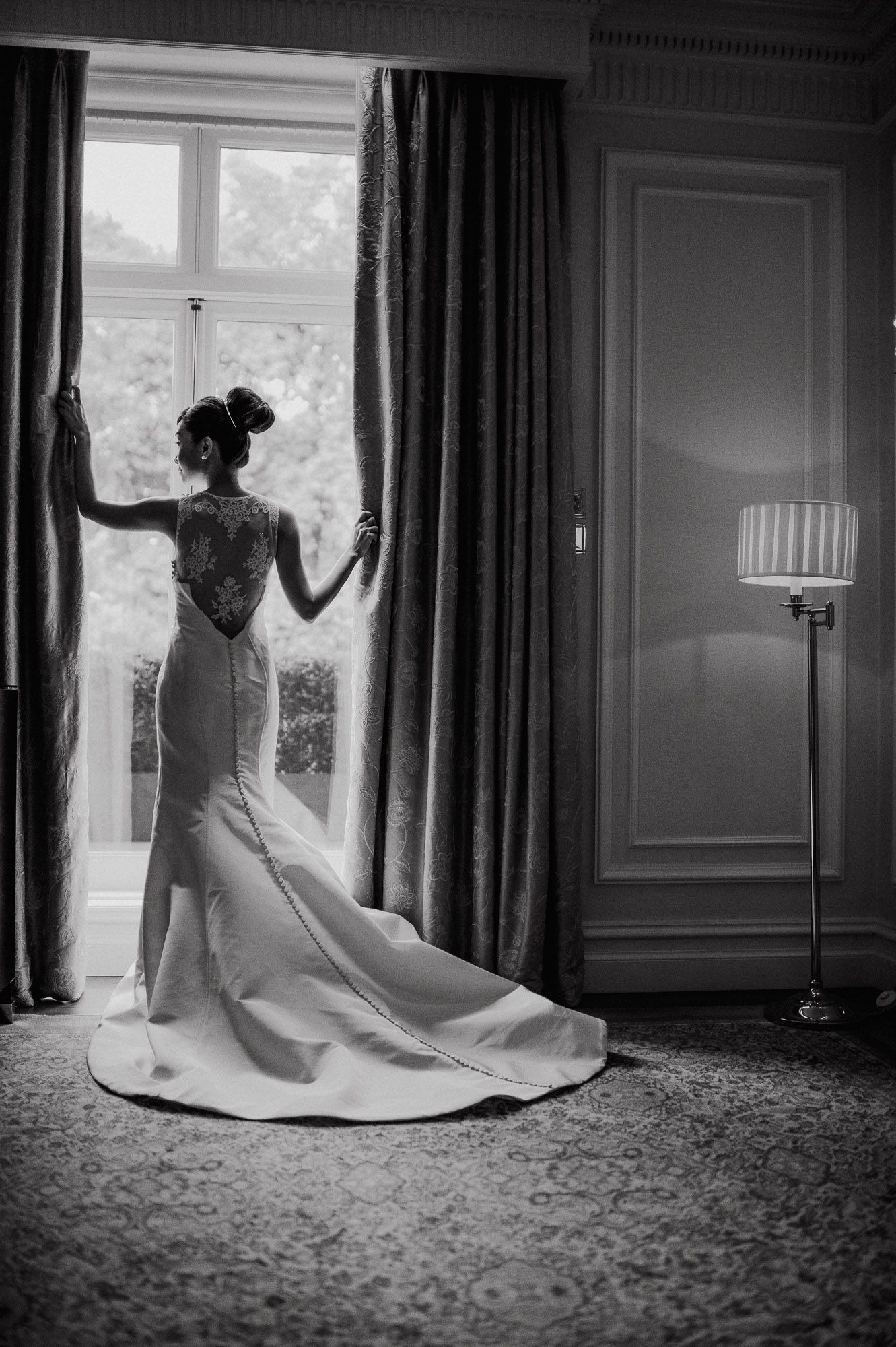Hotel wedding in Paris