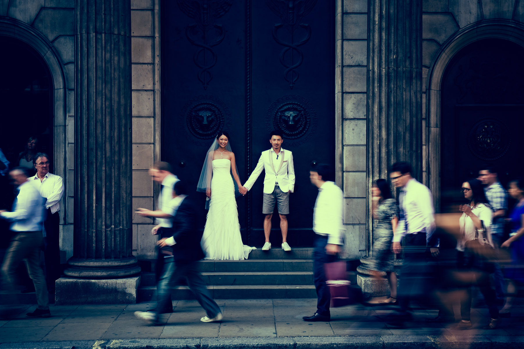 London pre wedding