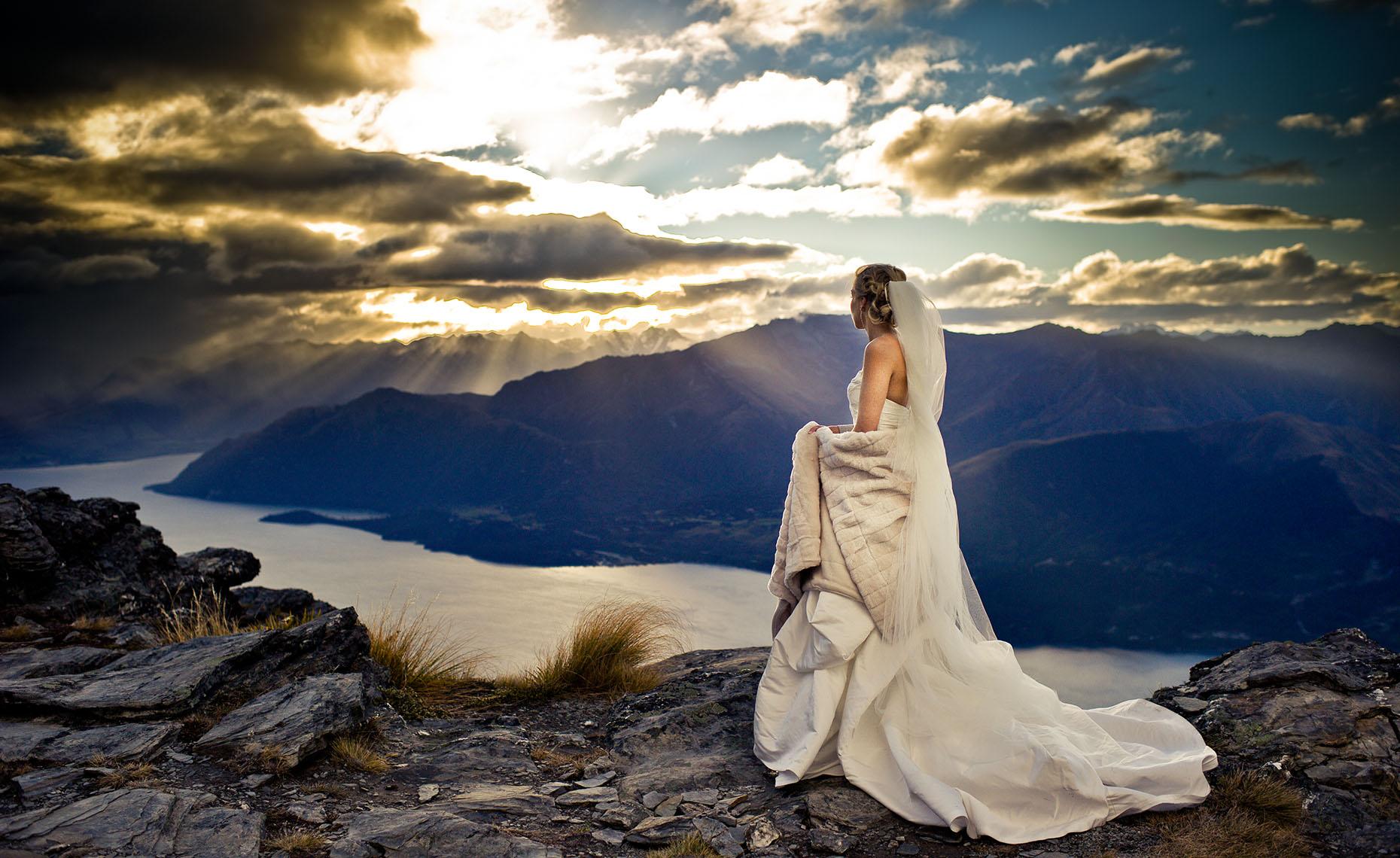 New Zealand wedding photographer in Queenstown