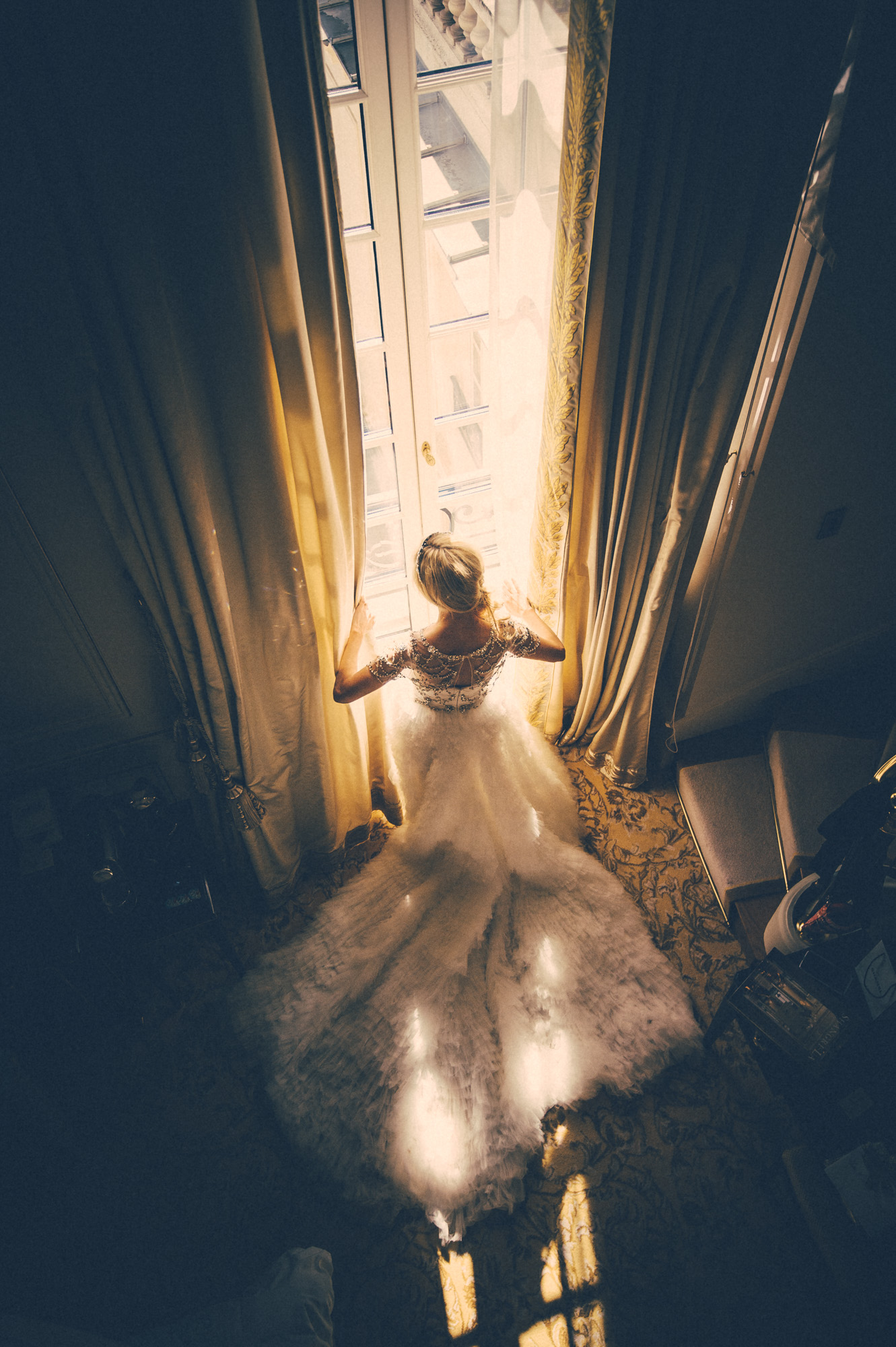 Shangri La Paris wedding