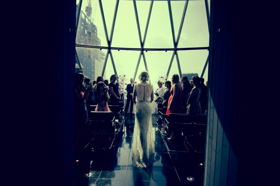 St Mary Axe wedding photographers Gherkin London