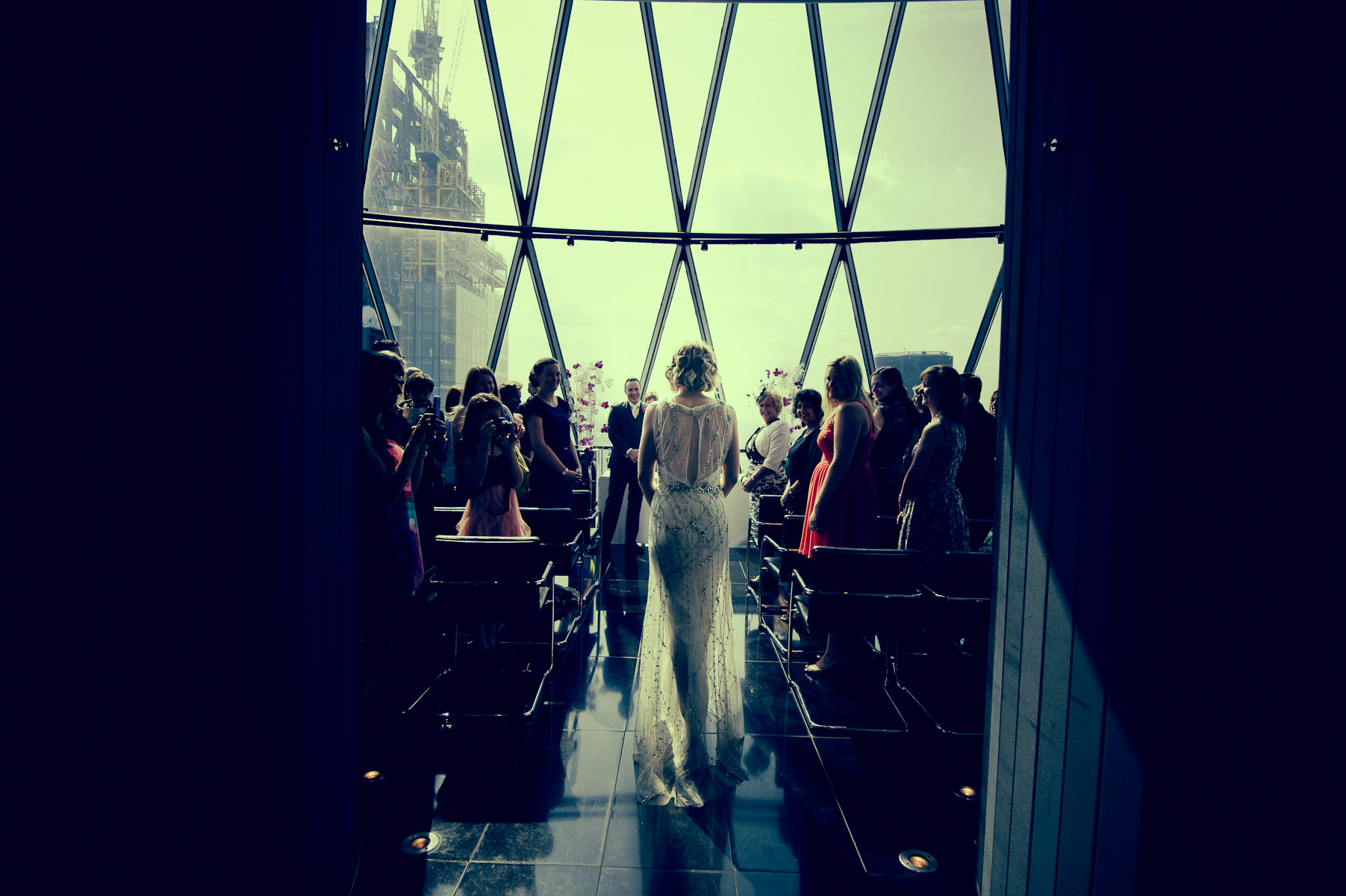 St Mary Axe wedding photographers Gherkin London