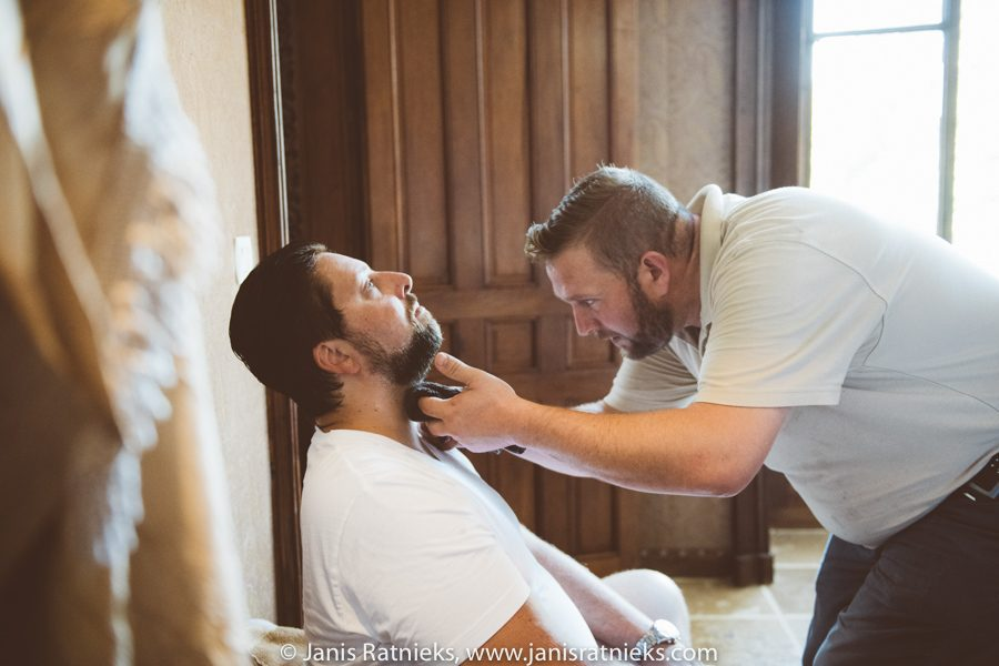 wedding barber shop France