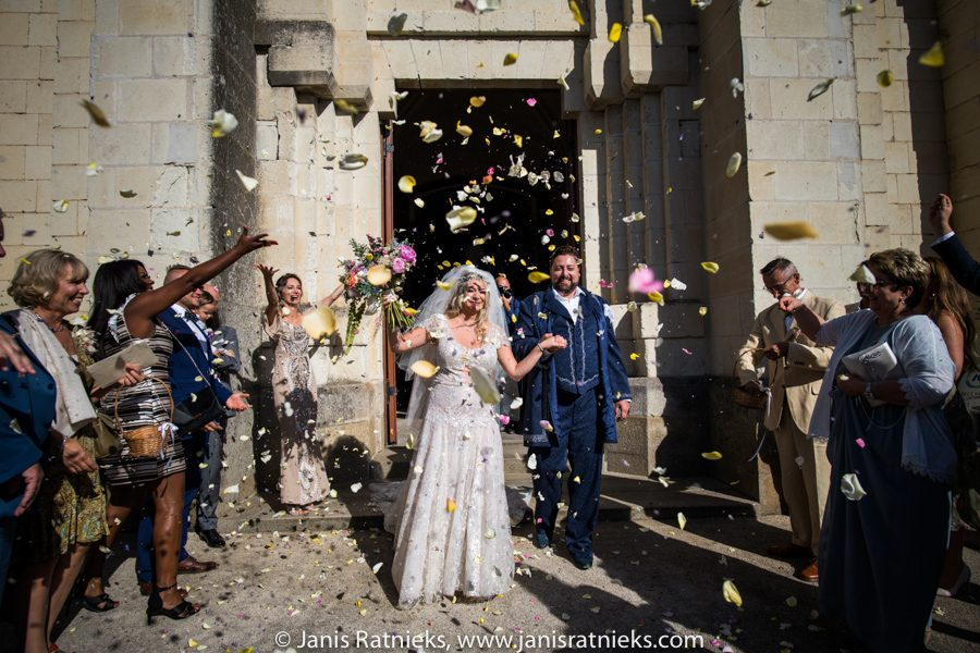 castle wedding photographer in France
