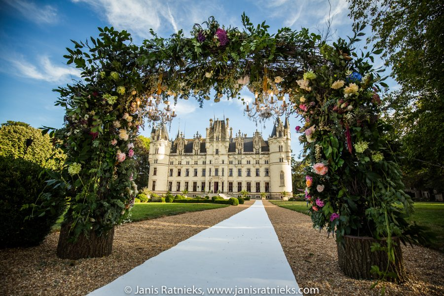 castle wedding venue France