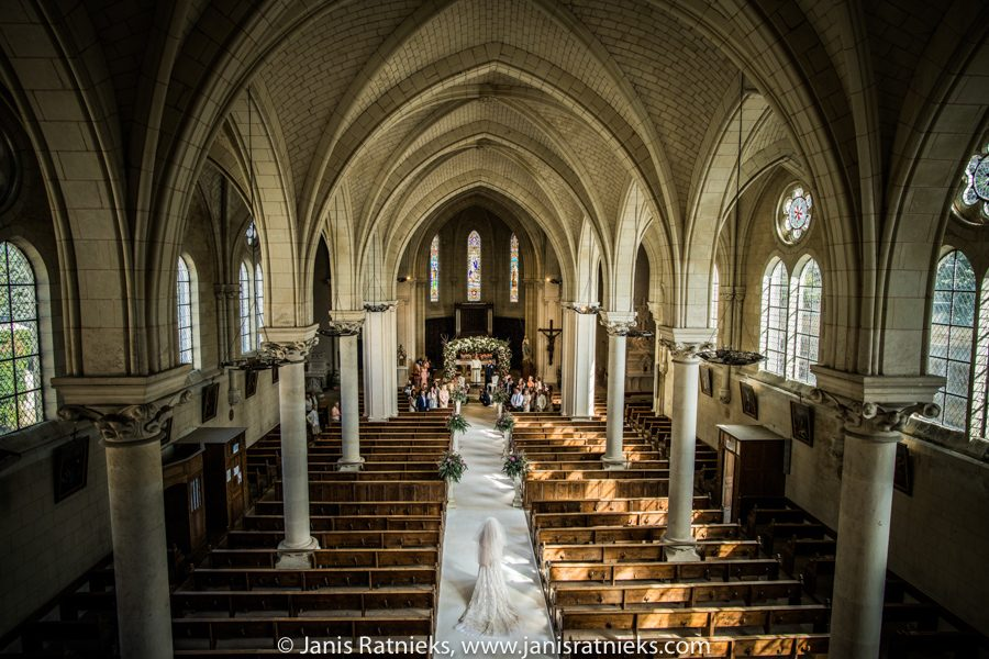 catholic church wedding France