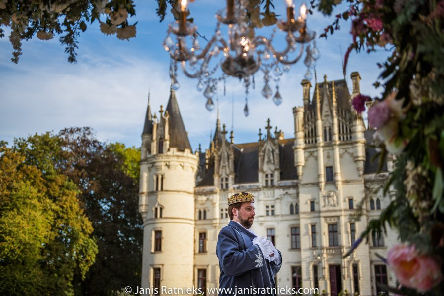 chateau wedding photographer in france