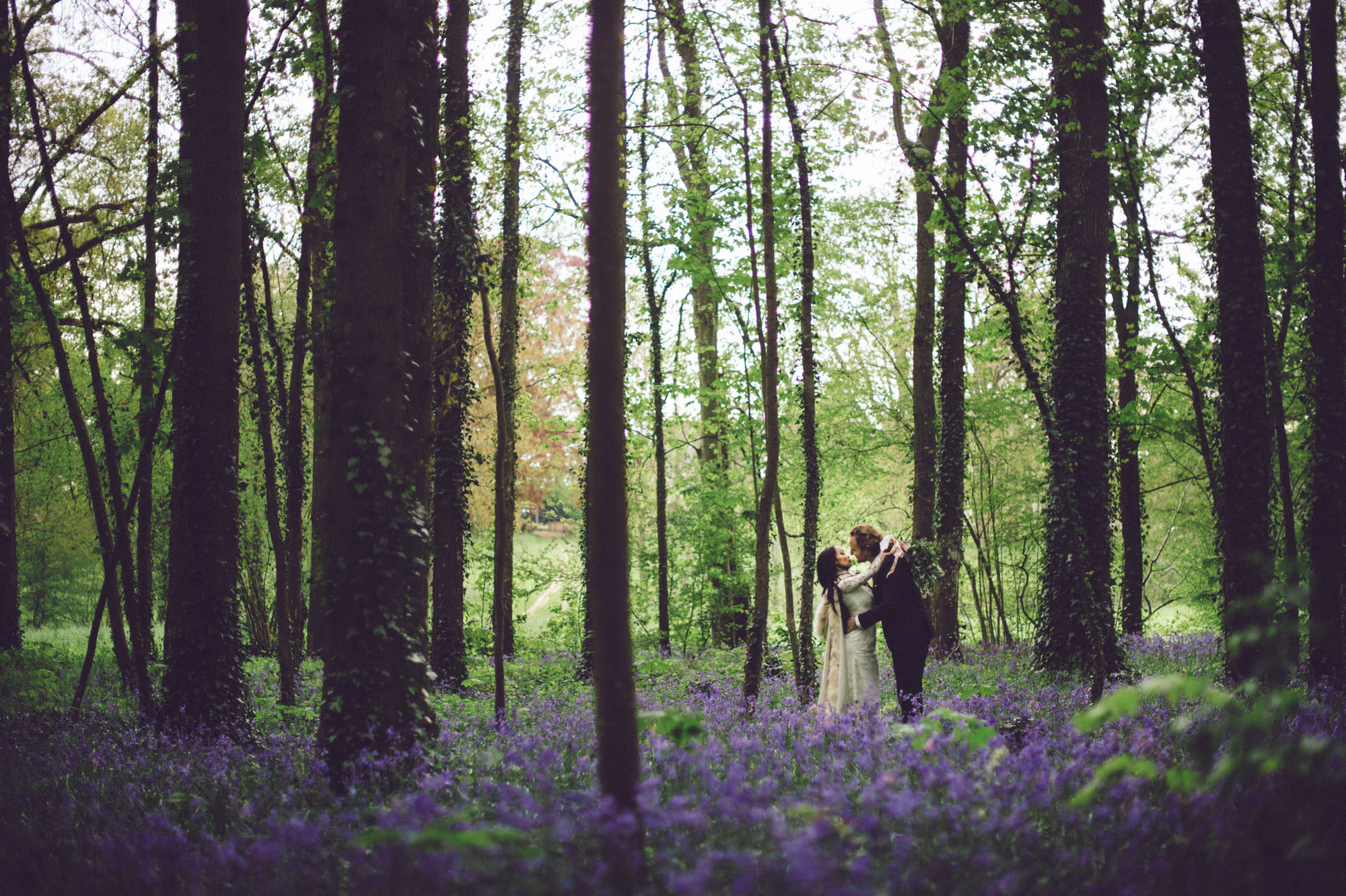 forest wedding in France