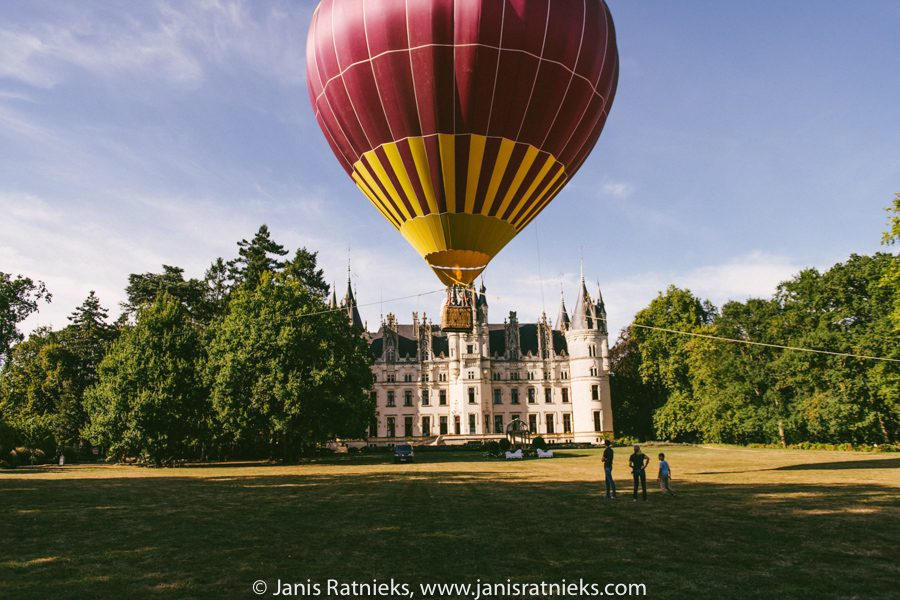 hot air balloon wedding ceremony