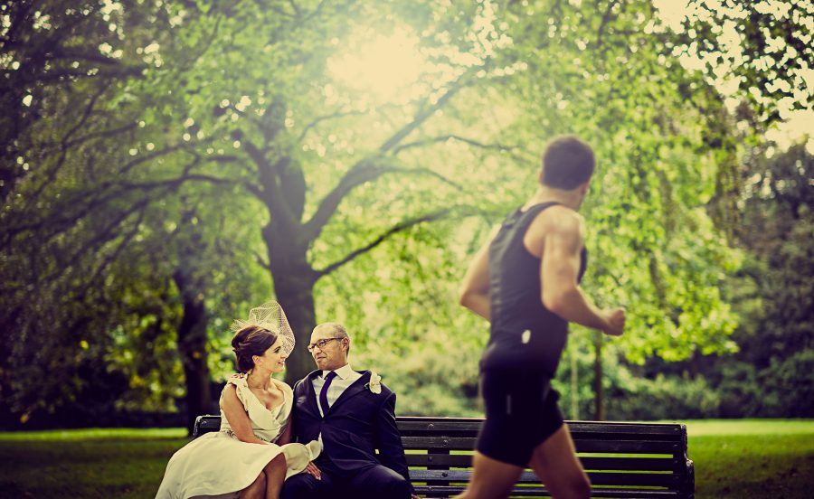 Hyde park wedding in London