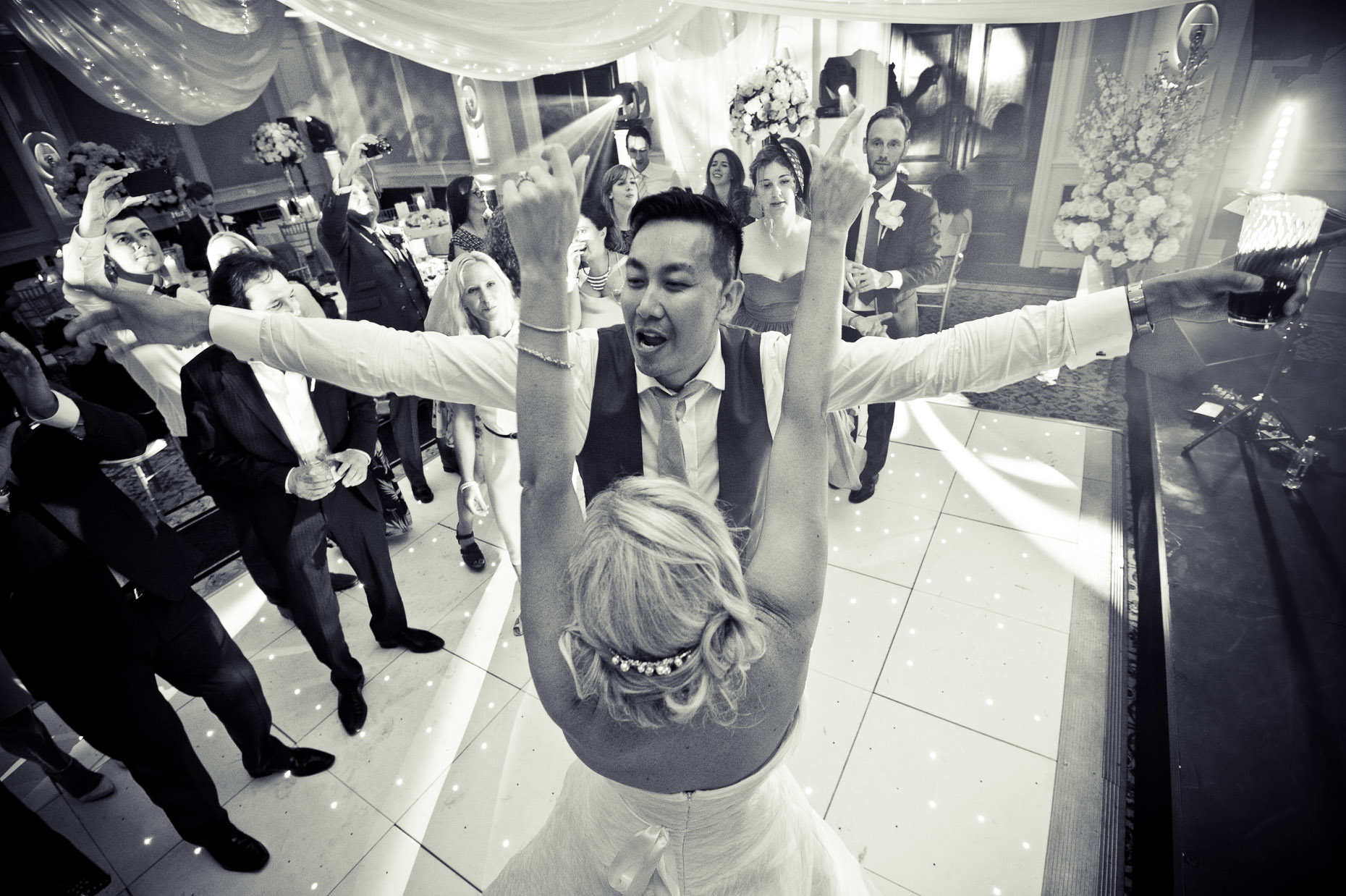 wedding party photographers UK