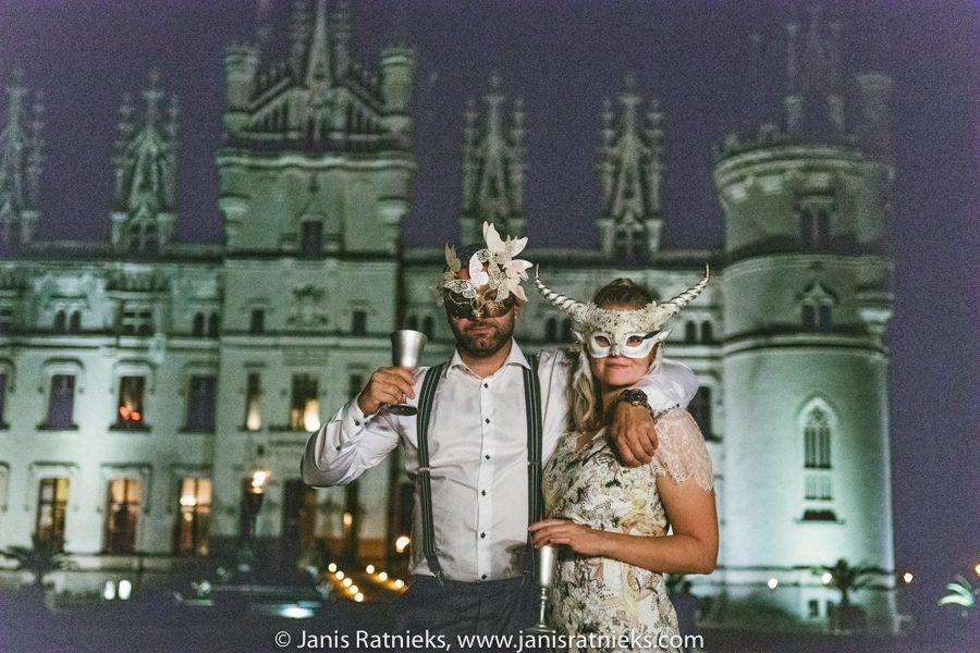 venetian mask party