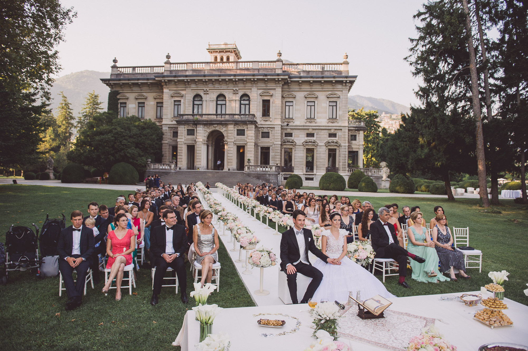 villa Erba wedding venue in Italy