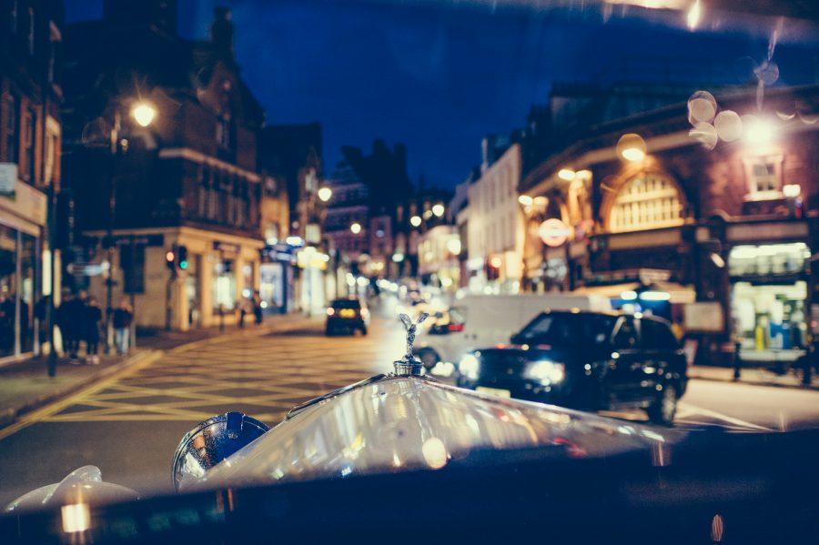 vintage Rolls Royce London