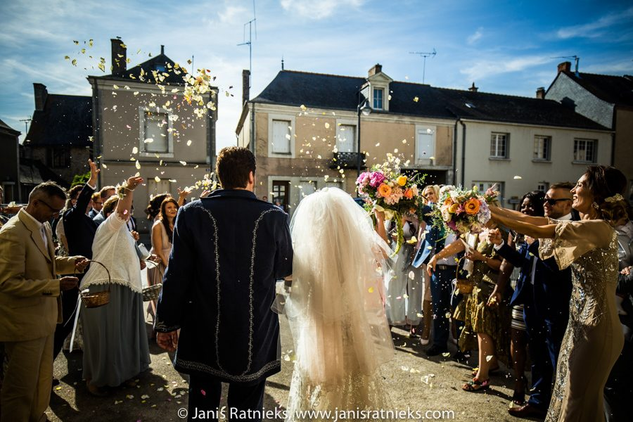 wedding celebrations in France