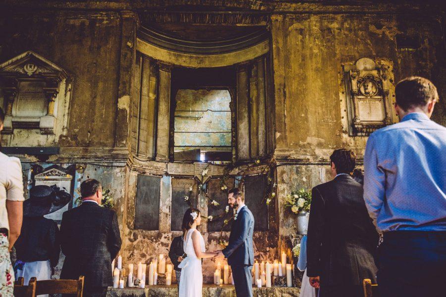 wedding ceremony Asylum chapel London