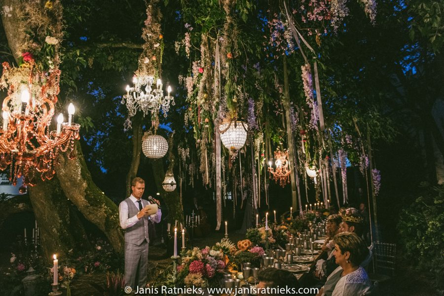 wedding dinner midsummers dream
