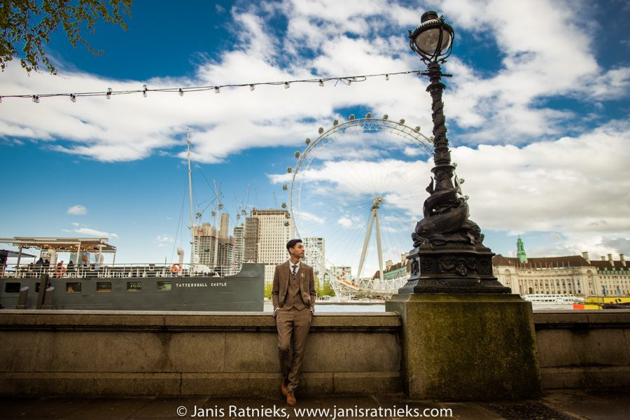 London Eye prewedding
