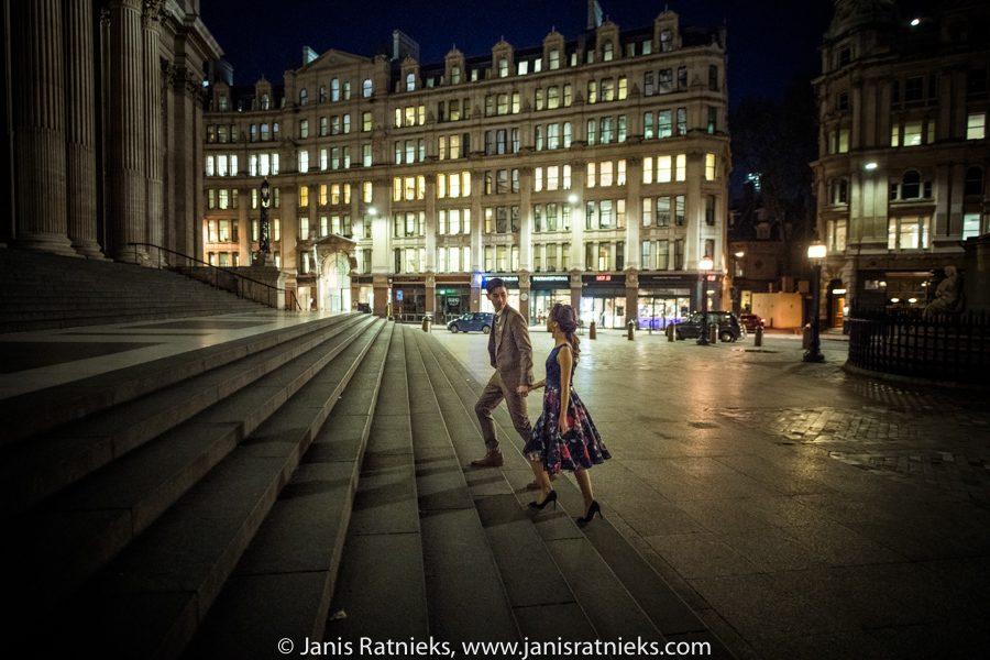 London night photo shoot