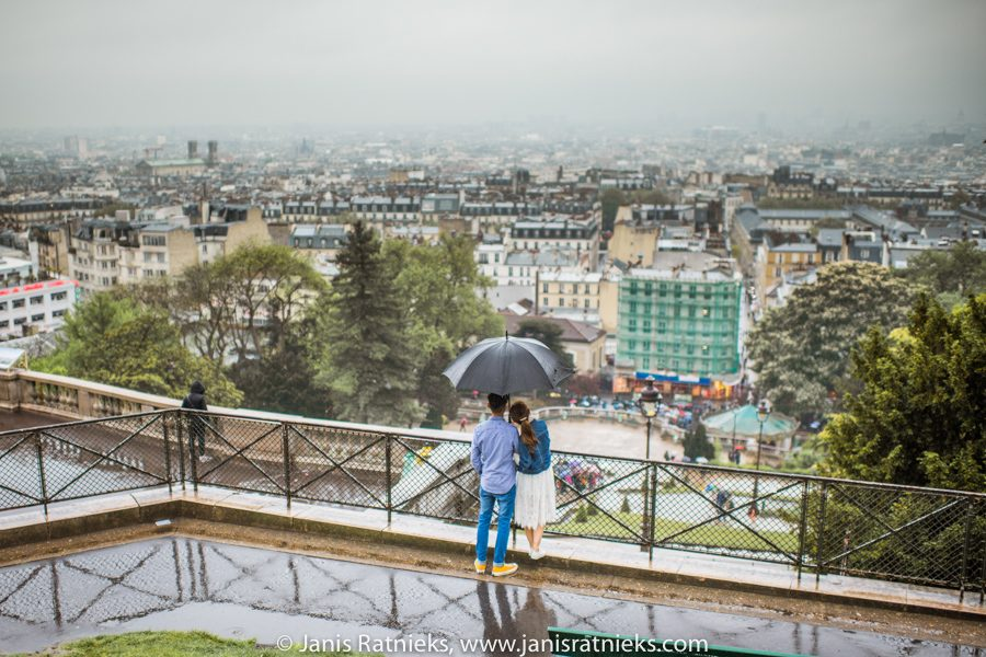 engagement photoshoot in Paris