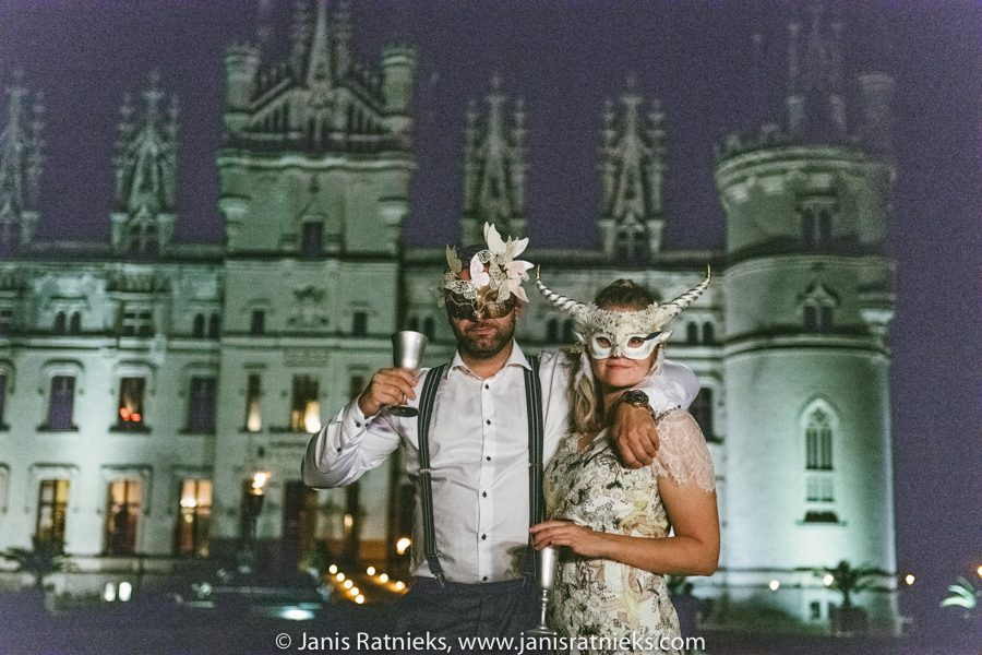 venetian carnival wedding