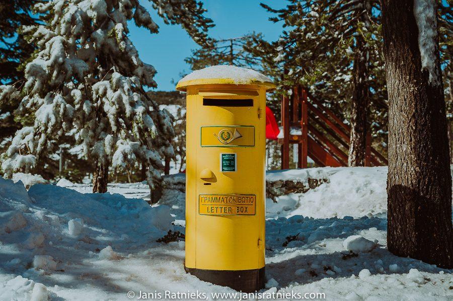 post box Cyprus