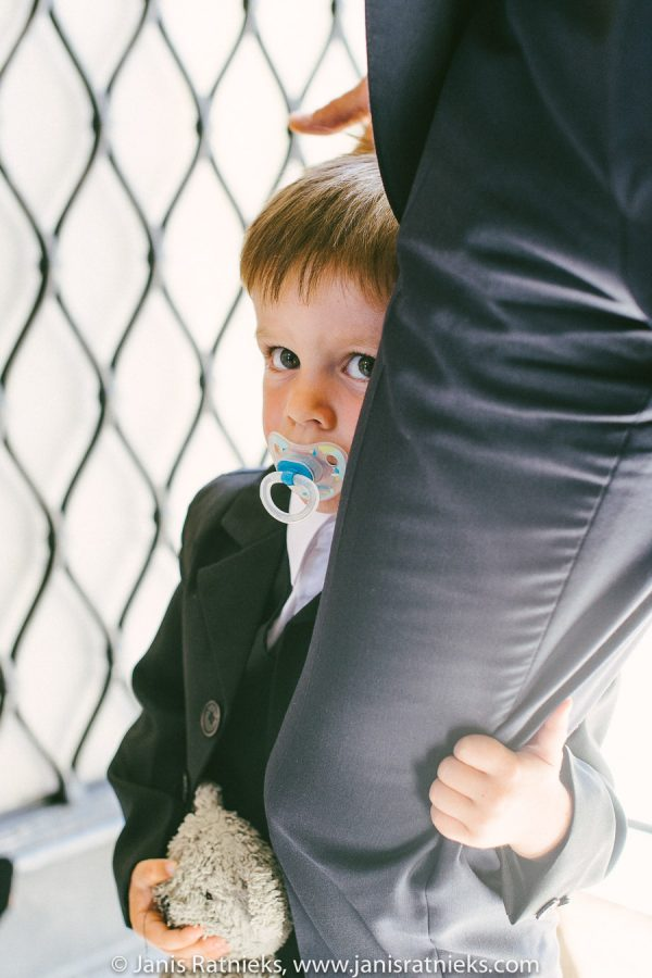 kid hiding