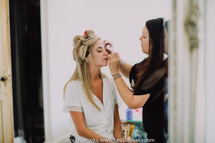 wedding make-up France