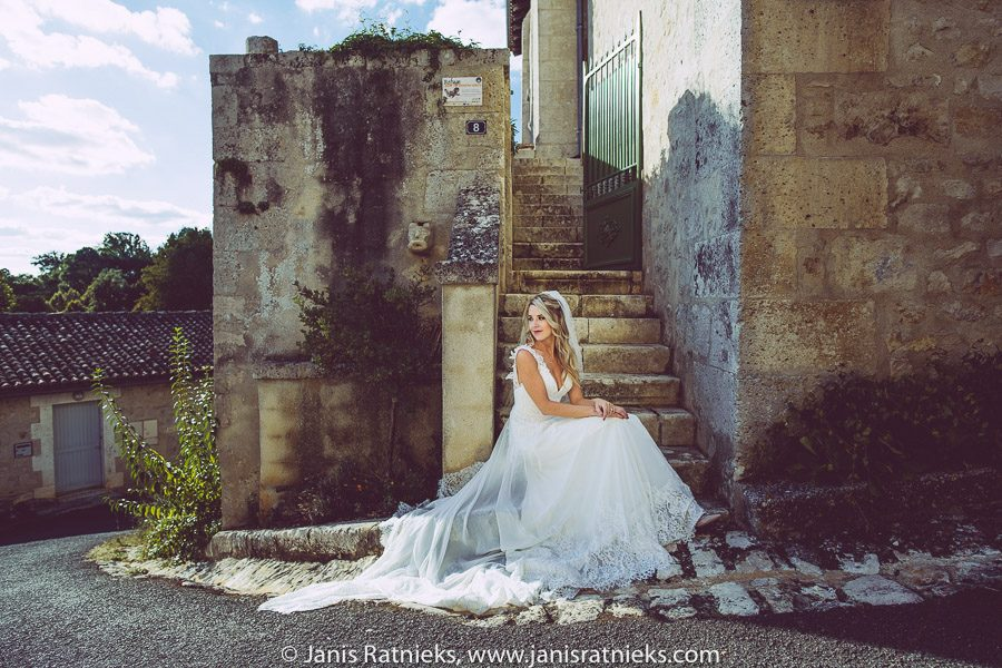 wedding photographer France bridal portraits