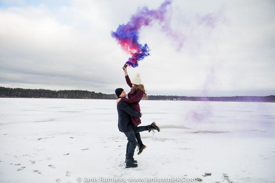 wedding photographer winter