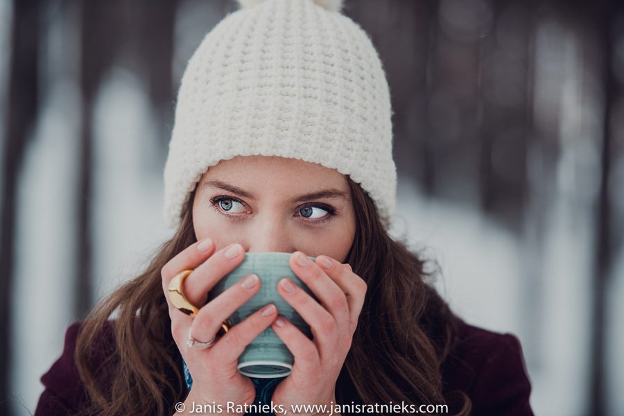 winter wedding photographs