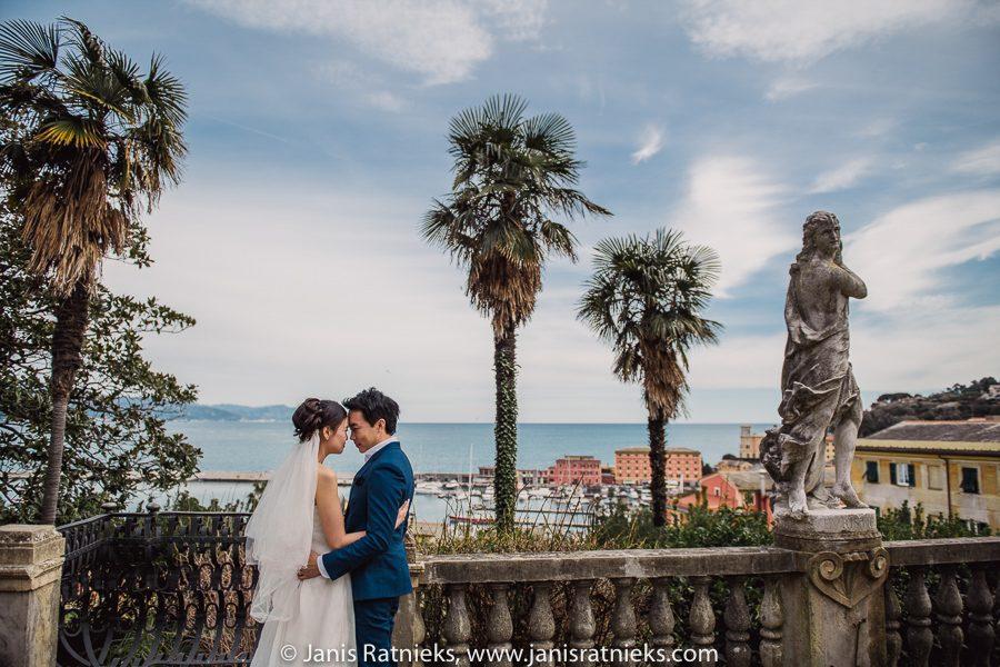 Villa Durazzo wedding photographer Italy