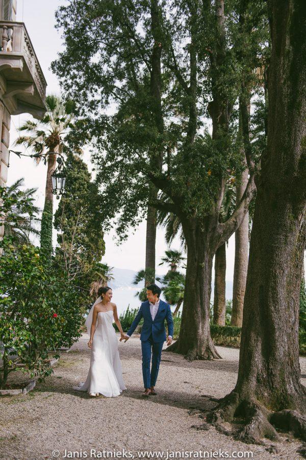villa wedding in Italy