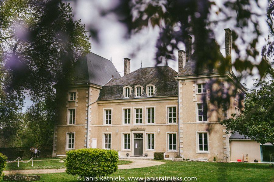 chateau de la Borderie wedding photographer