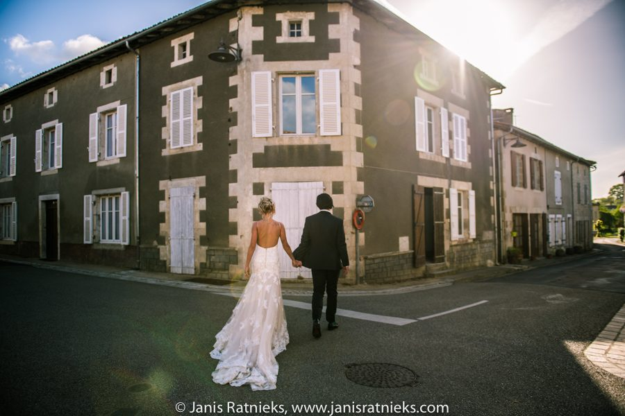 french town wedding photographer
