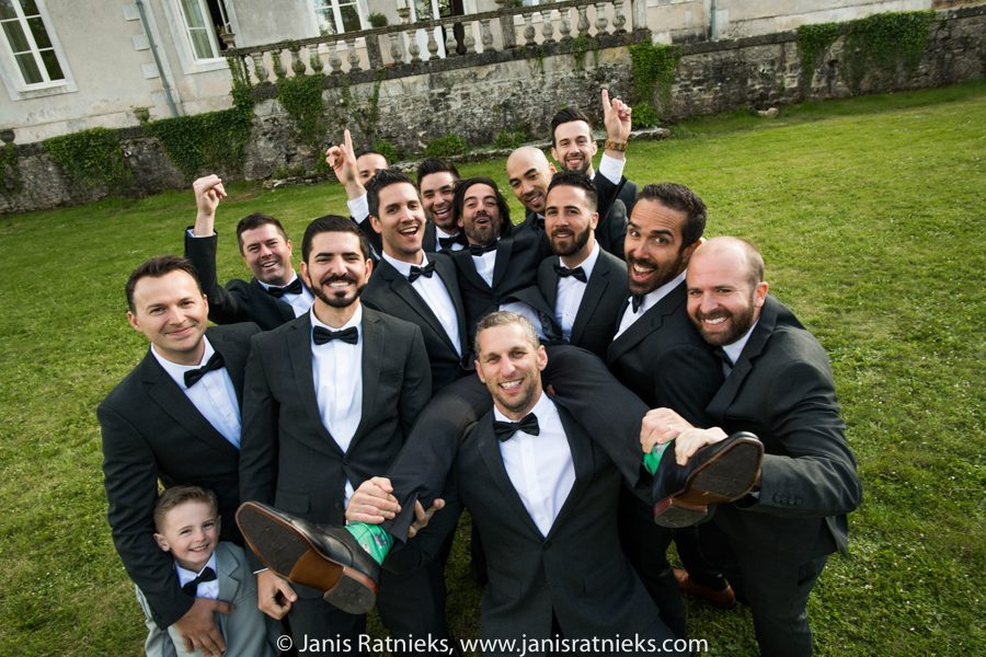 guys bridal party