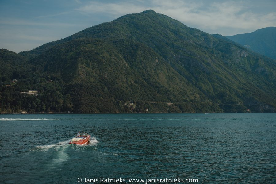 Riva boats Lake Como