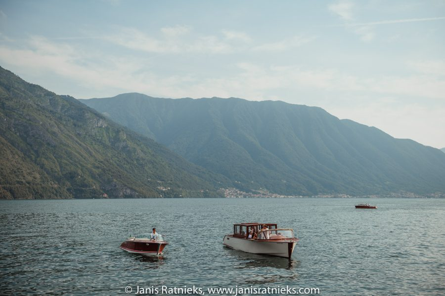Riva boats for wedding