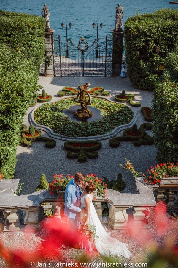 Villa Carlotta gardens Italy