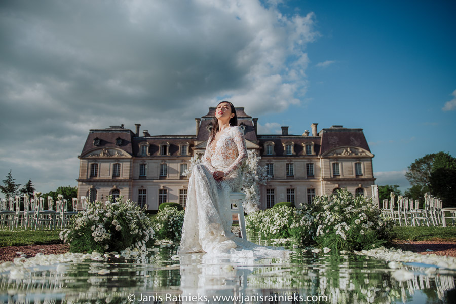 Chateau D'Atrigny wedding venue near Tours