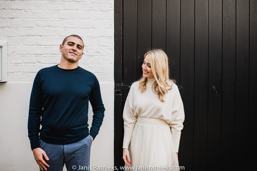 London engagement photo shoot